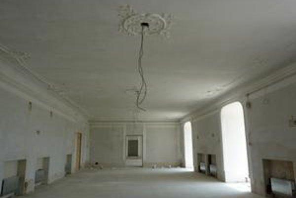 Budúca obrazáreň zaberie takmer celé jedno poschodie.