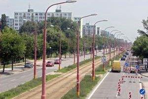 Ružinovská ulica.