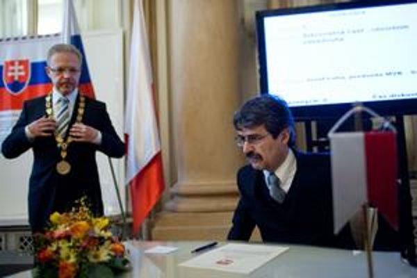 Milan Ftáčnik sa chopil funkcie.