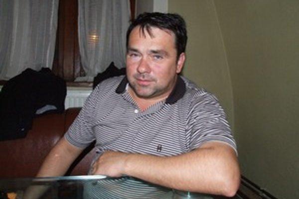 Ľubomír Barák, predseda FK Sitno Banská Štiavnica.