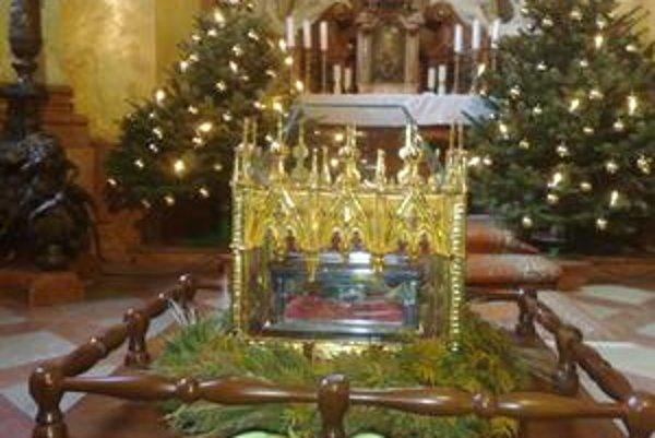Relikvia je uložená v kaplnke sv. Jána Almužníka.