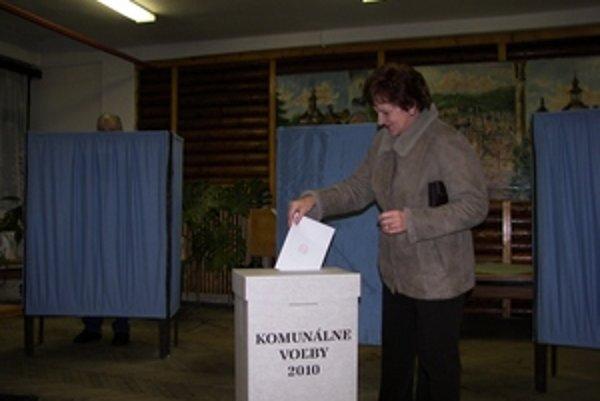 Mnohí Štiavničania sa v komunálnych voľbách riadili osobným pocitom.
