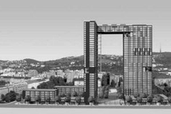 Výškový rezidenčný projekt majú stavať asi dva roky. Povolenie je už právoplatné.
