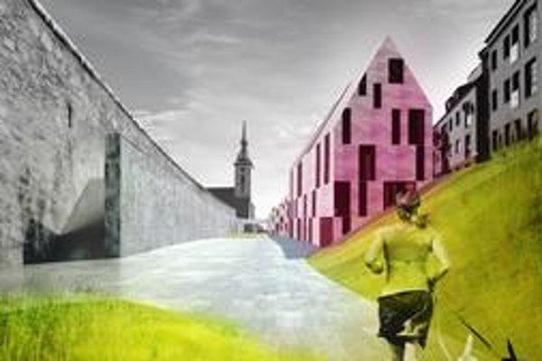 Zastavať aj druhú stranu Židovskej ulice navrhujú architekti Vallo a Sadovský spolu s Jánom Studeným z ateliéru KSA.