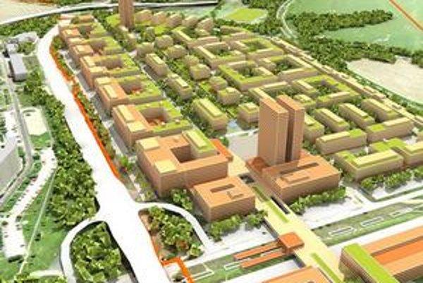 South City bude nová štvrť na juhu mesta medzi Petržalkou a Rusovcami. Začať sa má výstavbou nákupného centra.
