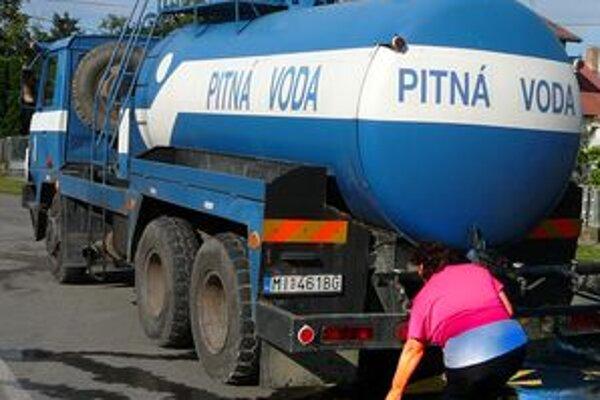 V Štiavnických Baniach majú dlhodobo problém s pitnou vodou.
