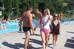 Kúpalisko v Sklených Tepliciach chcú otvoriť do polovice júna.