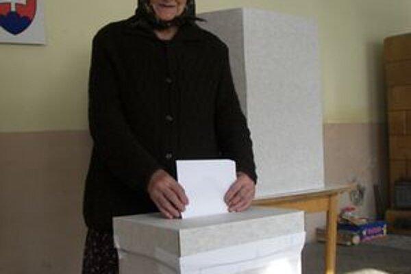 Dôchodkyňa Alžbeta Janeková chodieva voliť pravidelne.