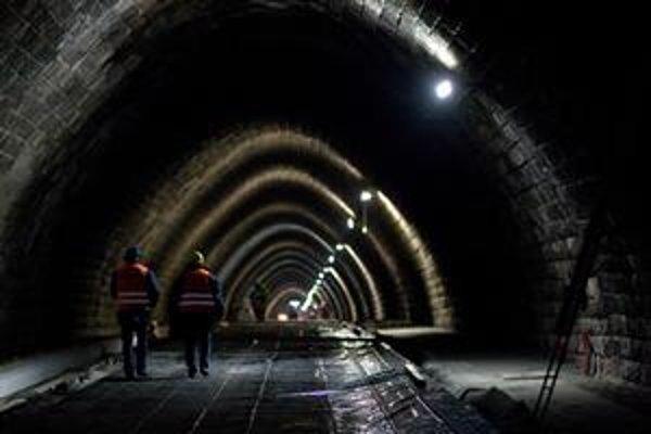 Oprava tunela stála mesto 8,3  milióna eur. Strážiť ho majú kamery.
