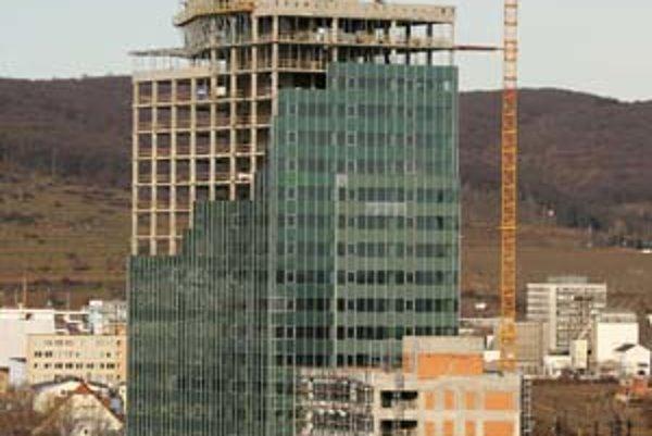 Výstavba prvej veže Lakeside Parku by mala stáť 44 miliónov eur.