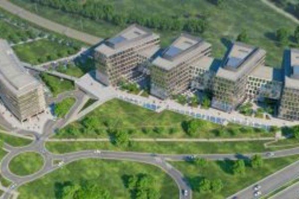Digital Park v bratislavskej Petržalke.