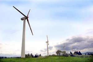 Na Slovensku pôsobí okolo desať firiem, ktoré sa zaoberajú veternou energiou. Veterný park už majú v mnohých obciach, Dunajská Lužná je zatiaľ najbližším miestom pri Bratislave. Nechýba ani v Cerovej.