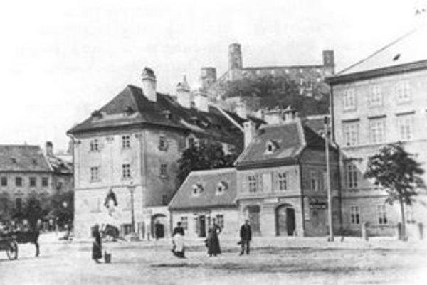 Gasthaus zum Lustigen Invaliden (krčma U veselého invalida), Mariateresia Strasse 52.