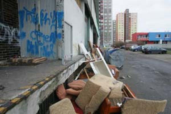 Dohliadať na čistotu stojísk v Petržalke majú od septembra pomôcť inšpektori verejného poriadku.