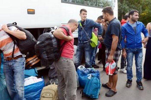 Vo štvrtok (17.9.) prišli do Gabčíkova prví žiadatelia o azyl.