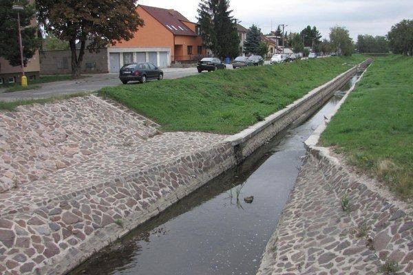 Ľudia z okolia Trnávky sa sťažujú, že problémy so spodnou vodou sa objavili práve po rekonštrukcii koryta.