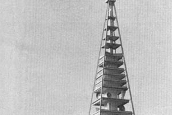 Veža na Kamzíku (vizualizácia 1975).