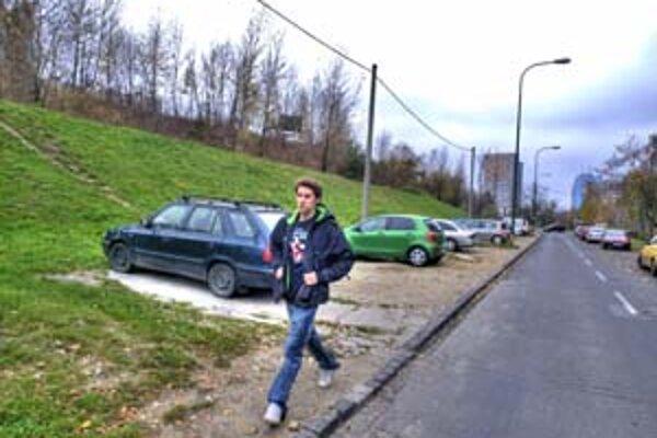Na zvyšku zelene, na svahu medzi Janotovou a Ulicou Hany Meličkovej, chcú stavať.