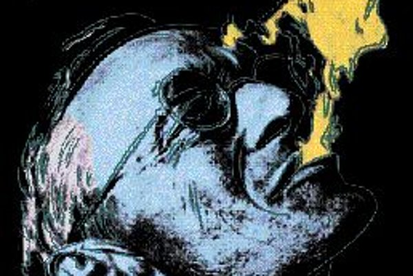 Andy Warhol: Hermann Hesse poľa fotografie Martina Hesseho.