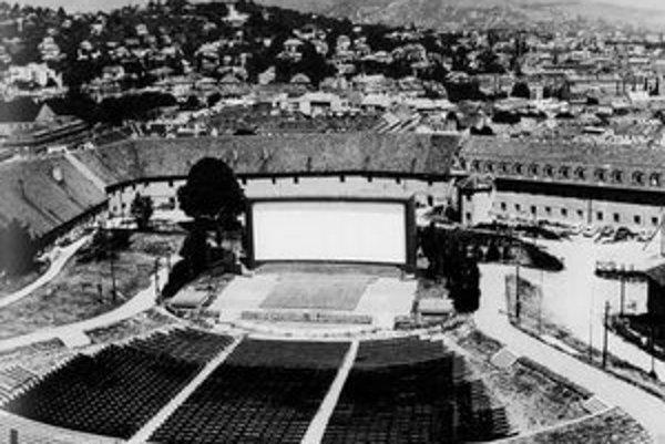 Ivan Kozáček: Hradný amfiteáter 26. 5. 1961.