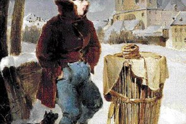 Peter Fendi: Chlapec s praclíkmi, 1828.