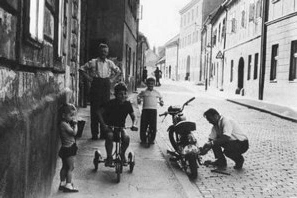 Bohumil Puskailer: Podhradie 1963.