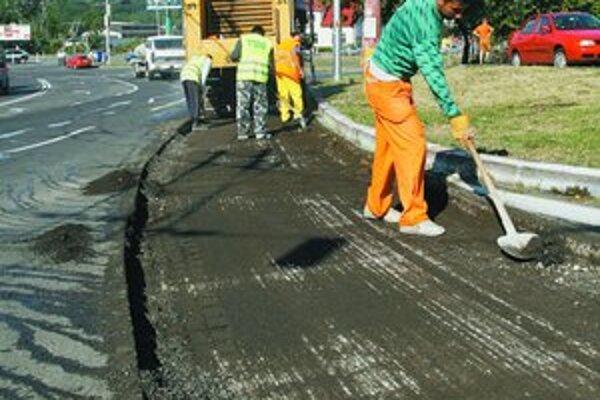 Rekonštrukciu Patrónky chce mesto stihnúť do konca leta.