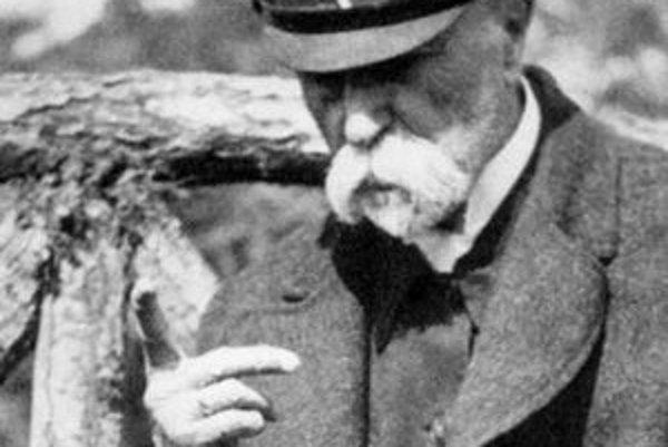 Tomáš Garrigue Masaryk bol prvým prezidentom spoločného štátu Čechov a Slovákov.