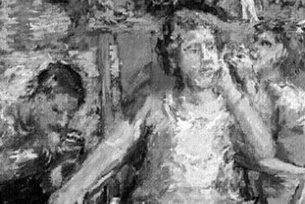 Oskar Kokoschka: V záhrade, 1934.