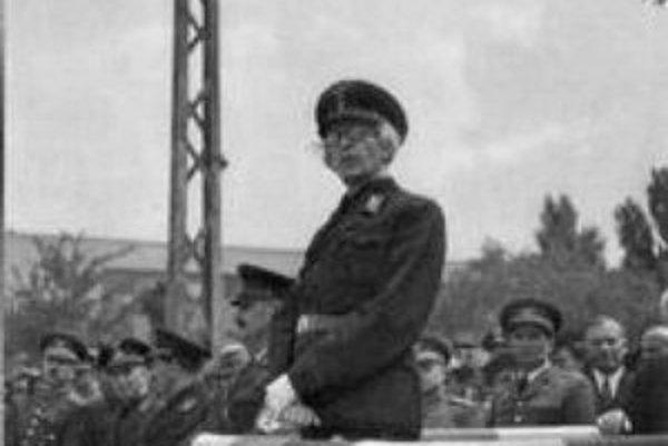 Ministerský predseda Dr. Vojtech (Béla) Tuka (4. 7. 1880 – 20. 8. 1946).