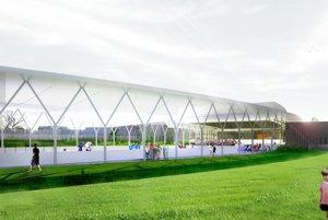 Športový areál má zahŕňať klzisko, plaváreň, multifunkčnú športovú halu, tenisové kurty, fitnescentrum, ubytovanie pre športovcov aj reštauráciu.