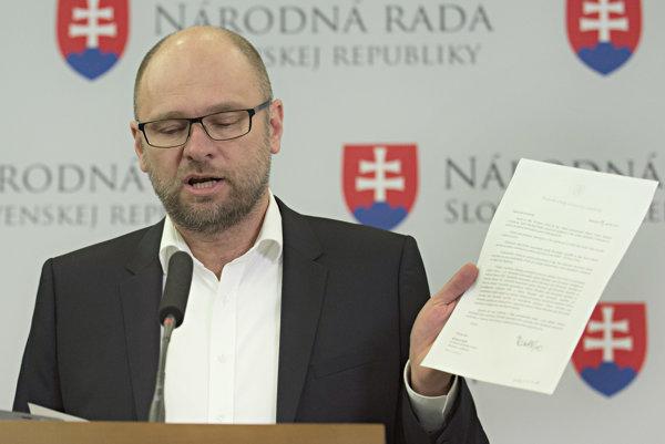 Na snímke Richard Sulík.