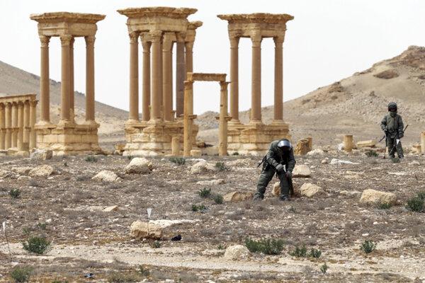 Mesto Palmýra.