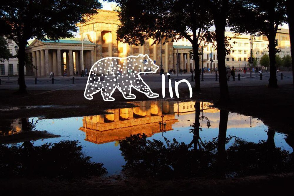 Berlín. angl. Bear(=medveď)+lin