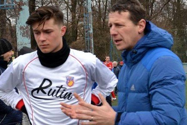 Miroslav Hronec s trénerom Tomášom Boháčikom.