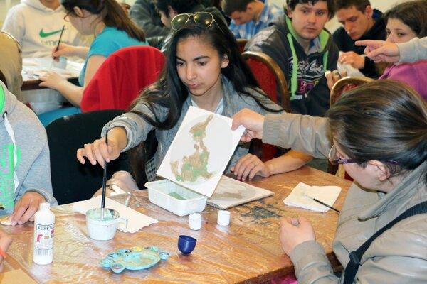 Žiaci Spojenej odbornej školy v Prievidzi absolvovali tvorivé dielne.