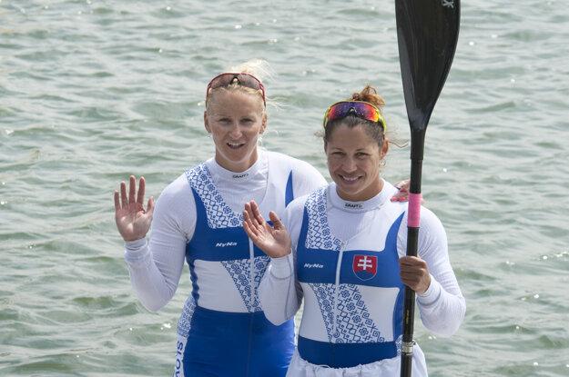 Ivana Kmeťová a Martina Kohlová (vpraavo)