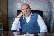 Podnikateľ a riaditeľ petrochemickej skupiny Slovnaft Oszkár Világi.