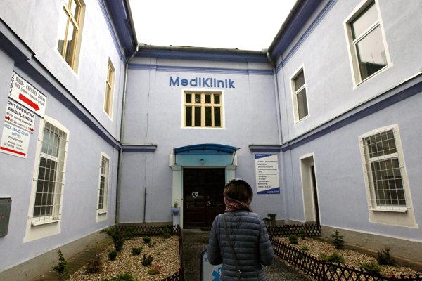 Súkromná klinika Mediklinik v Leviciach, kde chodia Poľky na potraty