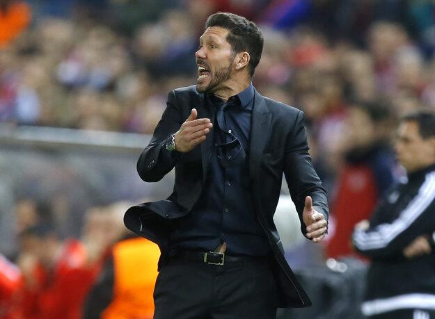 Diego Simeone má na dosah ďalšie finále v Lige majstrov.