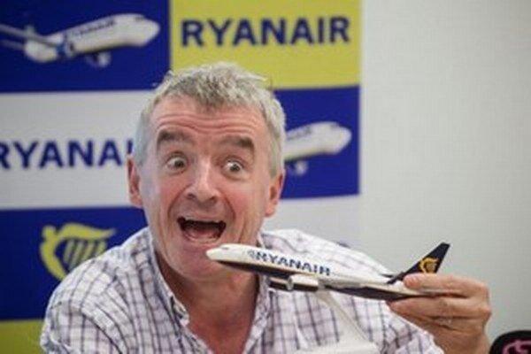 Šéf írskej spoločnosti MICHAEL O'LEARY.