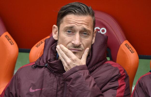 Francesco Totti dal v posledných štyroch zápasoch štyri góly. Zakaždým pritom nastúpil ako striedajúci hráč.