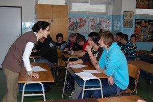 Učitelia hovoria, že žiaci radi vypĺňajú anonymné dotazníky.
