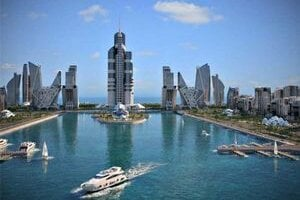 Komplex by mal vyrásť na umelo vybudovaných ostrovoch.