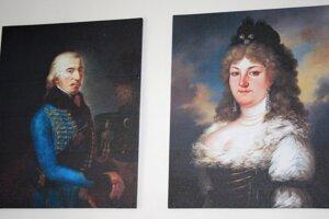 Portréty rodiny Kostolániovcov.
