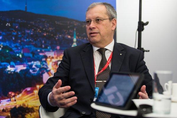 Dumitru Prunariu bol 103. človek vo vesmíre. Na Slovensko prišiel v rámci konferencie GLOBSEC.