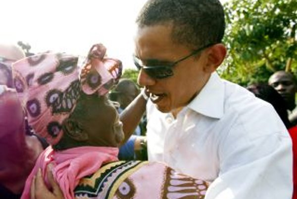 Barack Obama prišiel naposledy za babkou do Kogela ešte ako senátor v roku 2006.