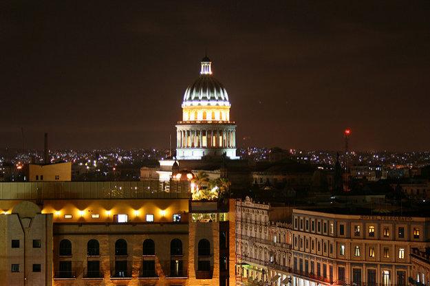 Hotel Sevilla stojí neďaleko od Capitolia. Takéto výhľady ponúka reštaurácia na najvyššom hotelovom poschodí.