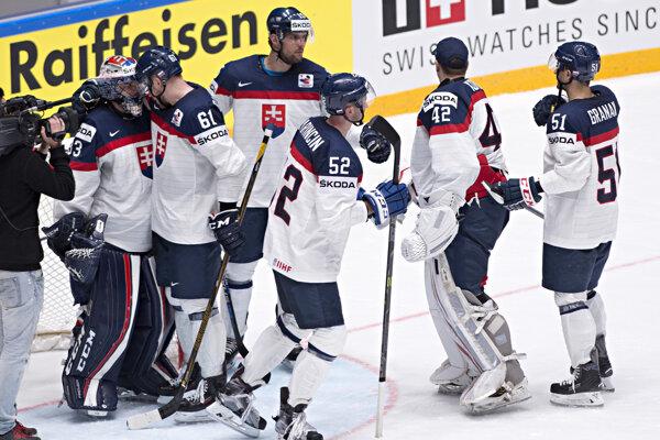 Slovenskí hokejisti vyhrali v nedeľu nad Francúzmi.