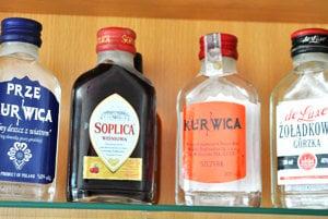 Poľské výrobky so zaujímavými názvami.